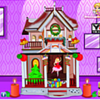 Barbie Christmas House