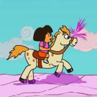 Dora And Unicorn