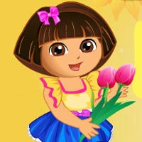 Dora Loves Flowers