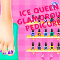 Ice Queen Glamorous Pedicure
