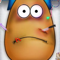 Injured Pou