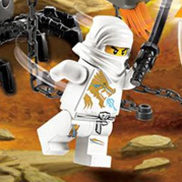 Lego Ninjago Ice Dragon Attack
