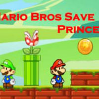 Mario Bros Save Princess