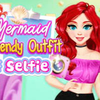 Mermaid Trendy Outfit #Selfie