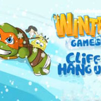 Nickelodeon Winter Games Cliff Hang Up