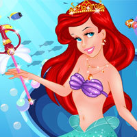 Princess Ariel's Makeup