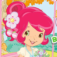 Strawberry Shortcake Breezy Butterfly Swing