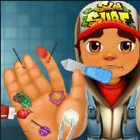 Subway Surfer Hand Caring