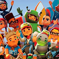 Subway surfers: All characters