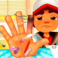 Subway Surfers: Hand Injury