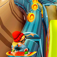 Subway surfers: Tricky subway
